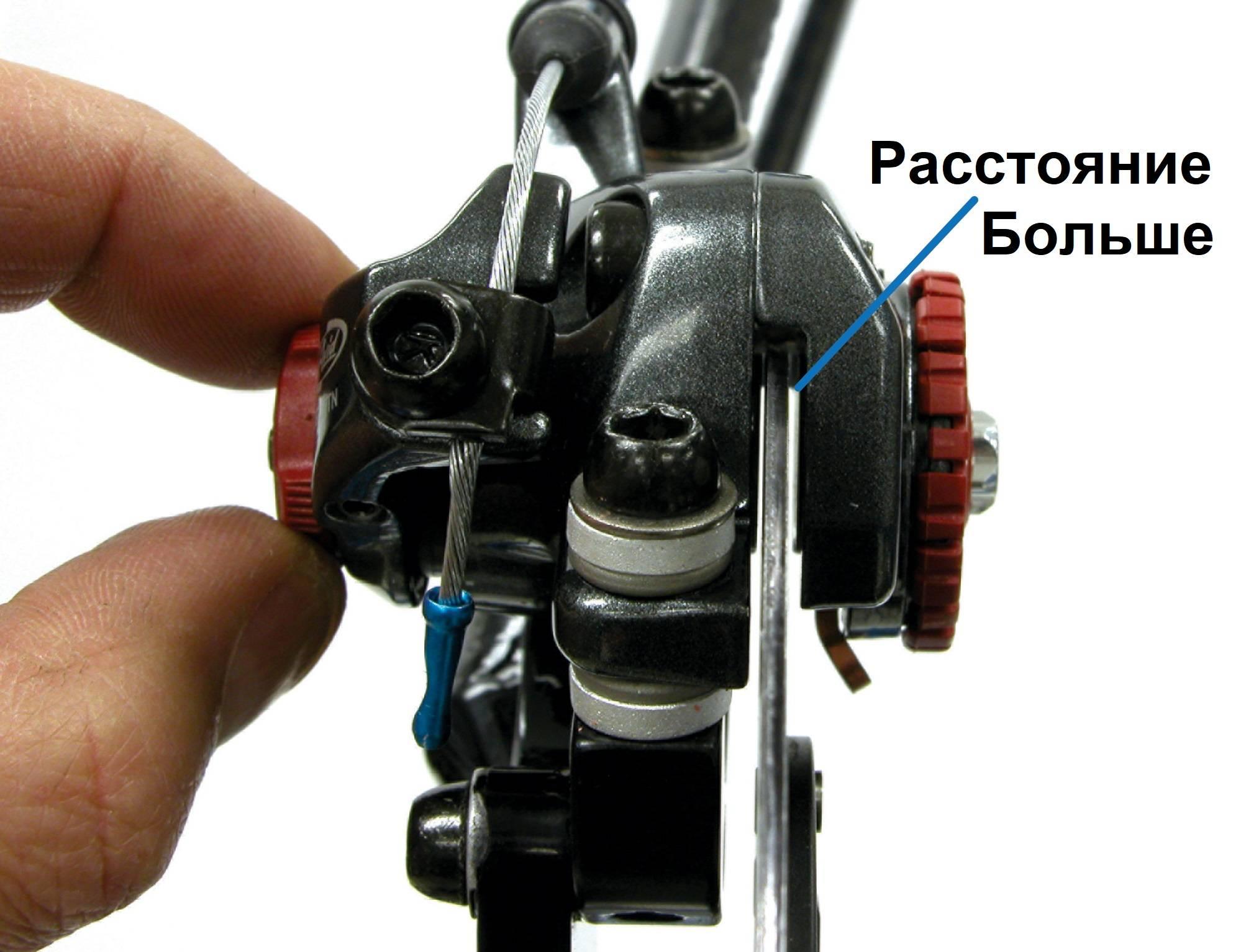 О горном велосипеде: Как настроить механические дисковые тормоза