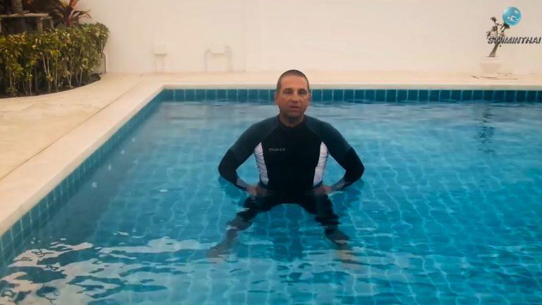 Как нырять в воду