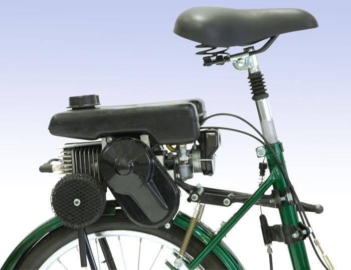 бензиновый двигатель для велосипеда