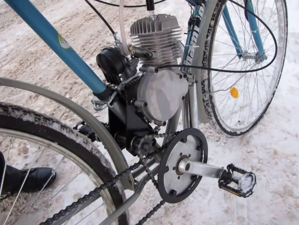 Редуктор для веломотора