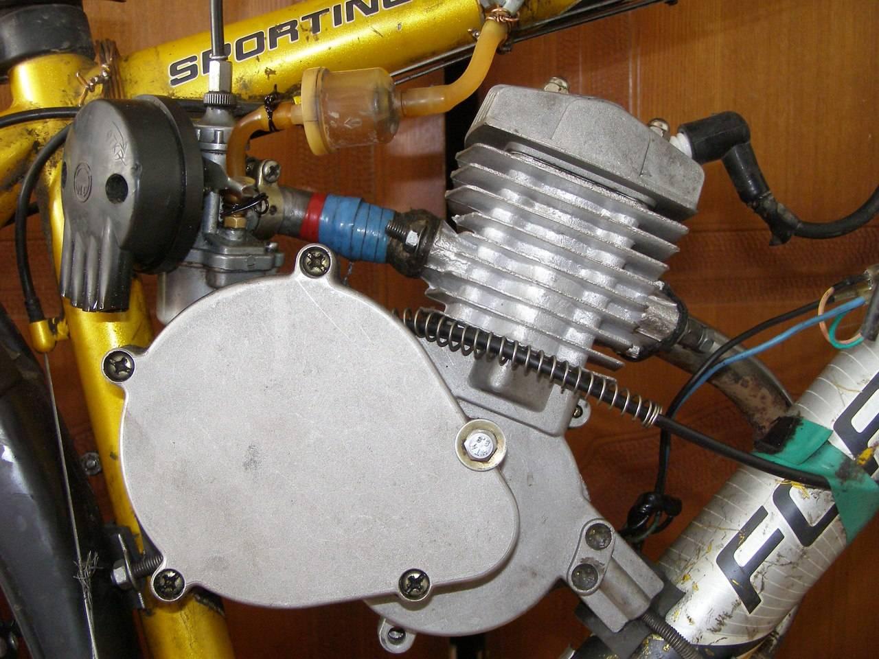 Карбюратор велодвигателя
