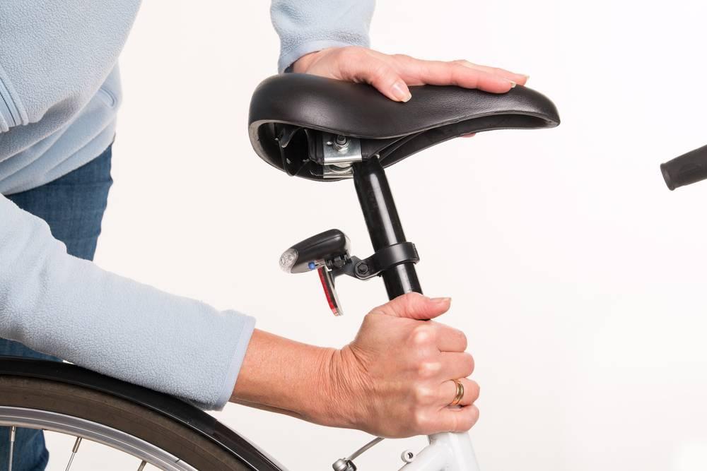 Как отрегулировать сиденье велосипеда