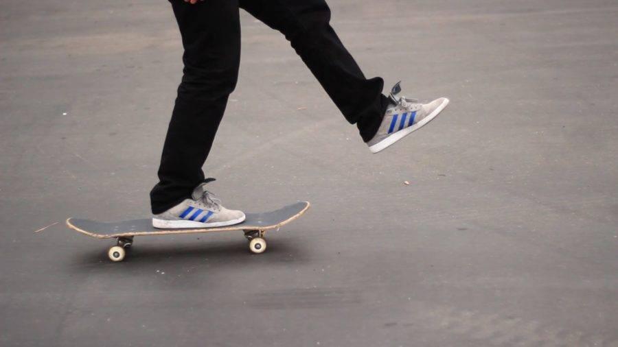 Уроки катания на скейтборде