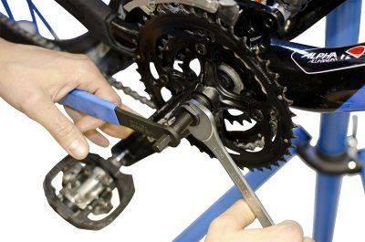 Как собрать каретку на велосипеде