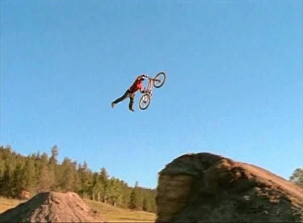 прыжки на велосипеде как называется