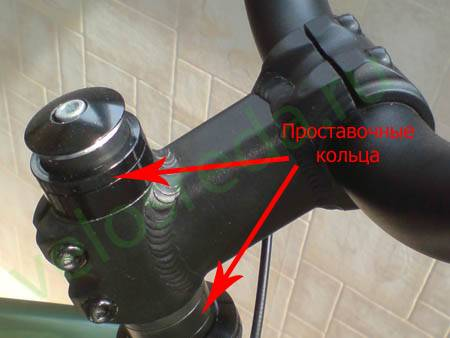 Регулировка руля велосипеда по высоте