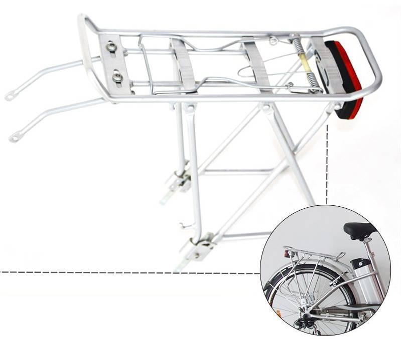 Задний багажник для велосипеда из алюминиевого сплава