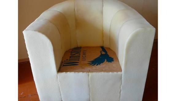 Кресло детское своими руками