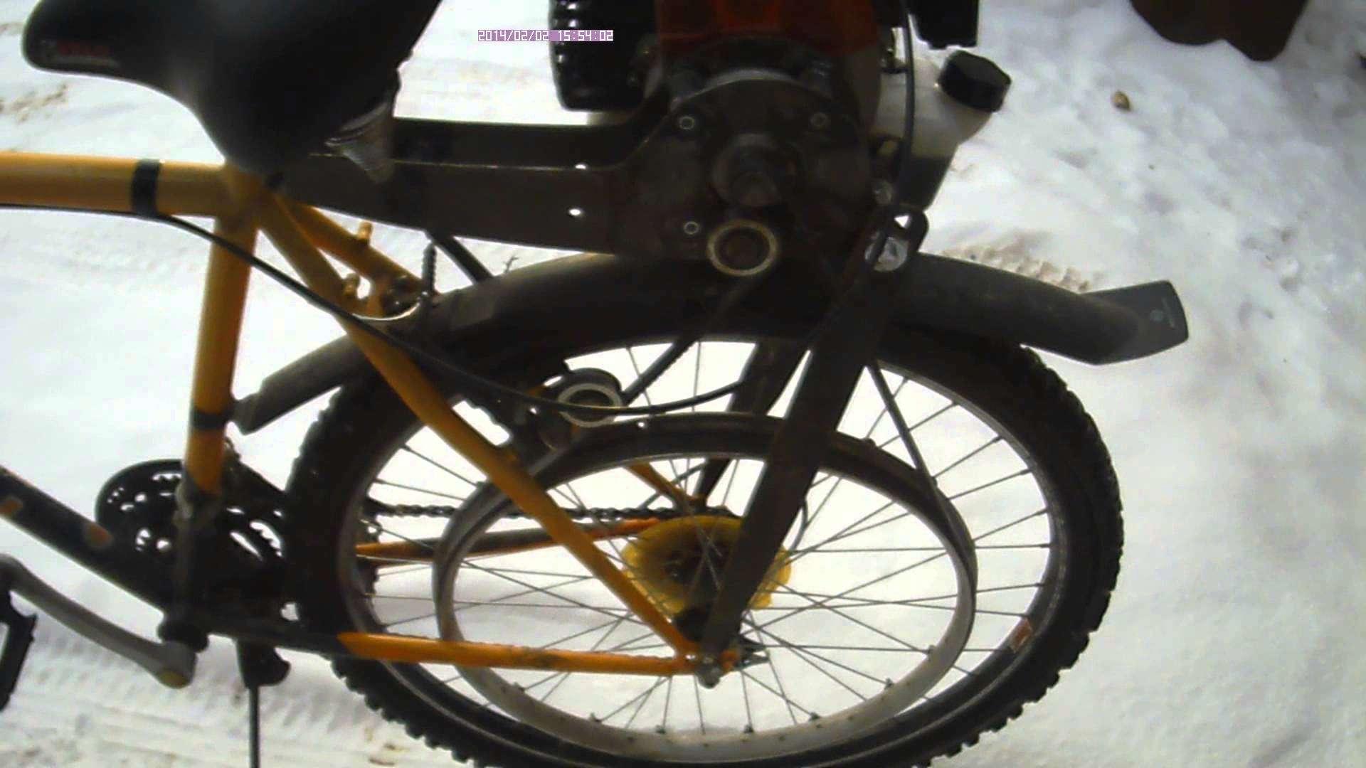Двигатель на велосипед своими руками