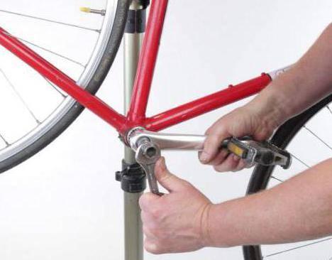 Как снять педали на велосипеде