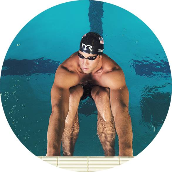 Очки стекляшки для плавания