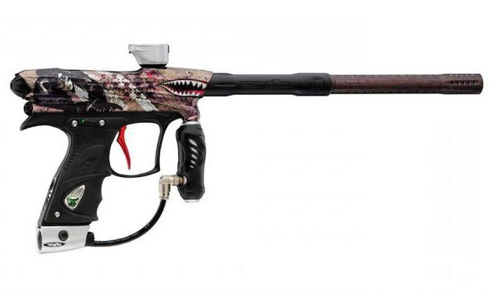 Пейнтбольный пистолет