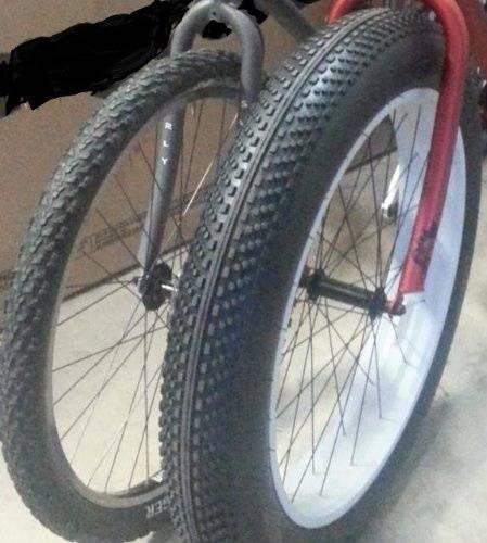 О горном велосипеде: Расположение зубастых покрышек на велосипеде