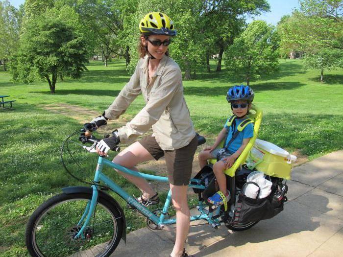 Сидение для ребенка на велосипед