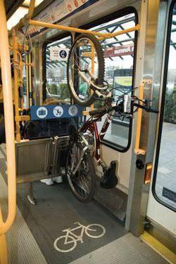 Можно ли провозить в поезде велосипед