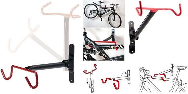 Стойка для велосипеда напольная своими руками