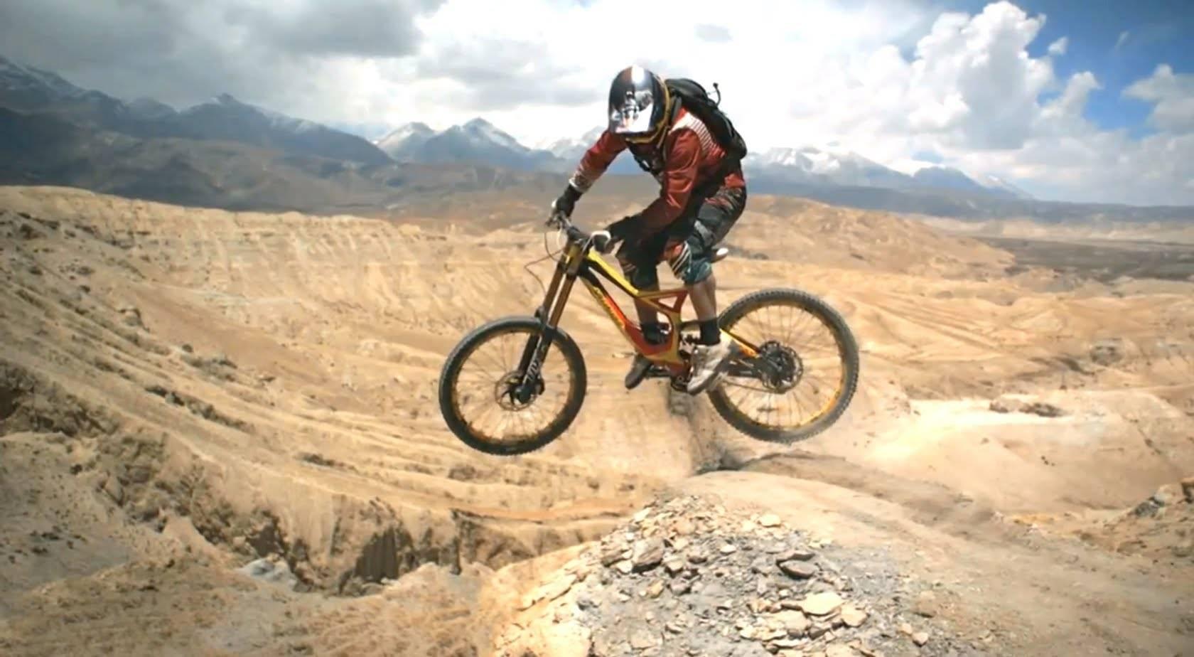 Трюки на горном велосипеде