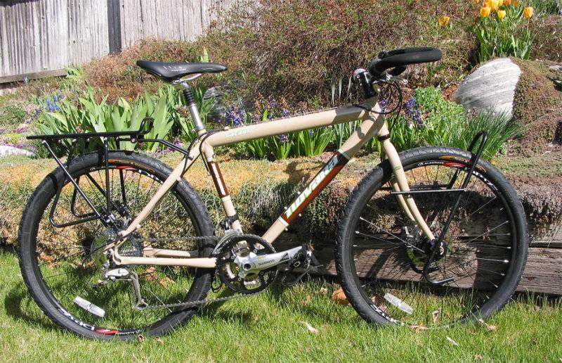 Велосипед для похода