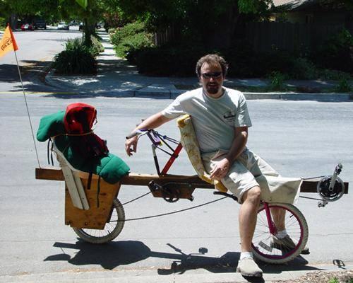 Деревянный велосипед и инженер Том Кабат (Tom Kabat)