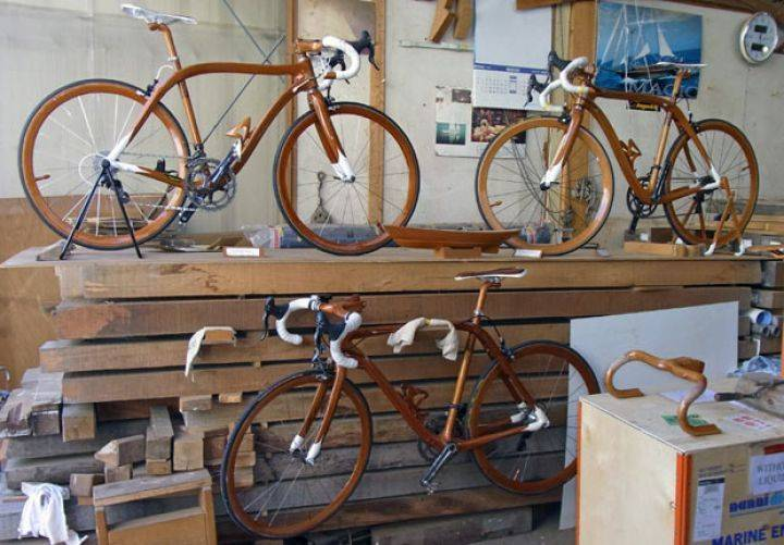 Деревянные велосипеды Sanomagic