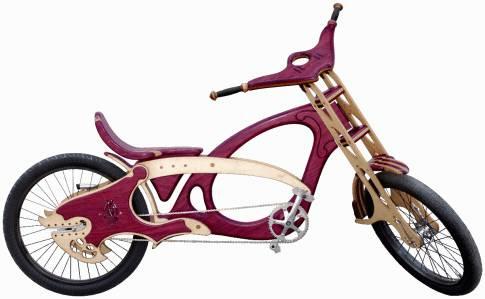 Деревянный велосипед Gypsy