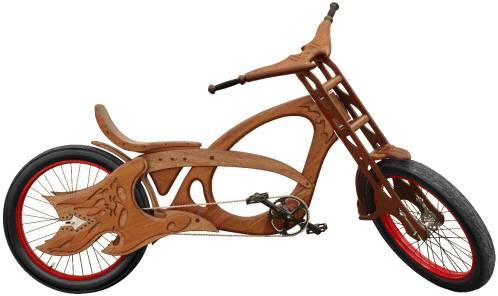 Деревянный велосипед Cherry Bomb