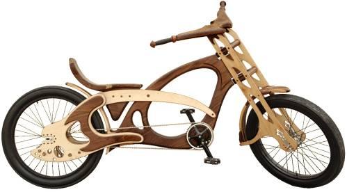 Деревянный велосипед Freedom