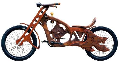 Деревянный велосипед Interceptor
