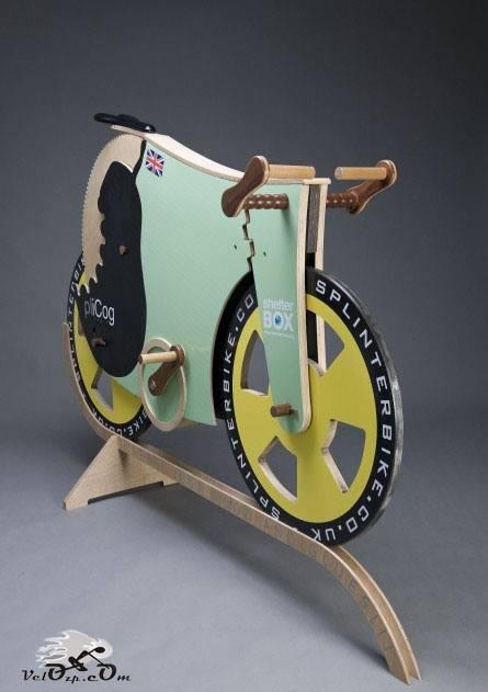 Деревянный велосипед Splinter