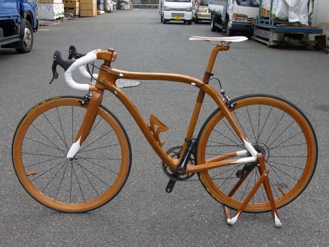 Велосипед из дерева – своими руками