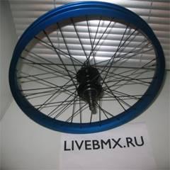 Как заспицевать колесо