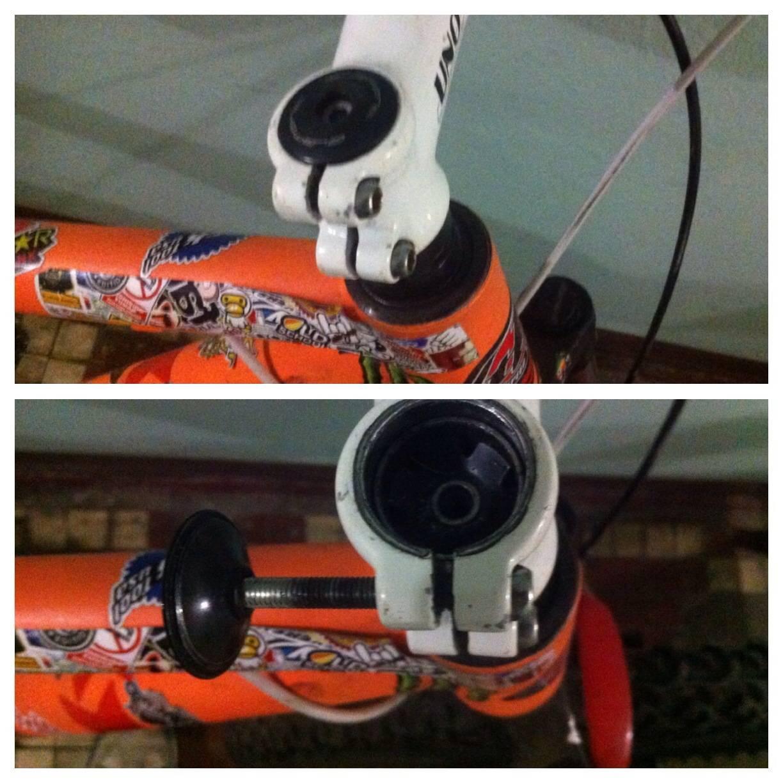 снятие якоря с велоссипедного руля