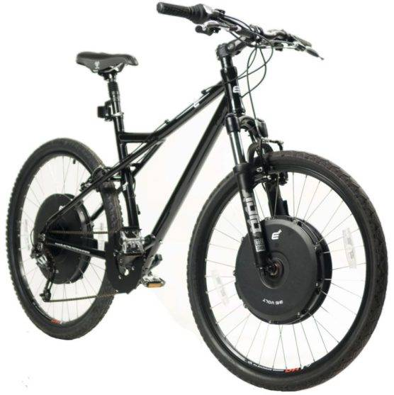 Велосипед с передним приводом