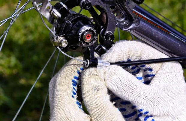 как починить тормоза на велосипед