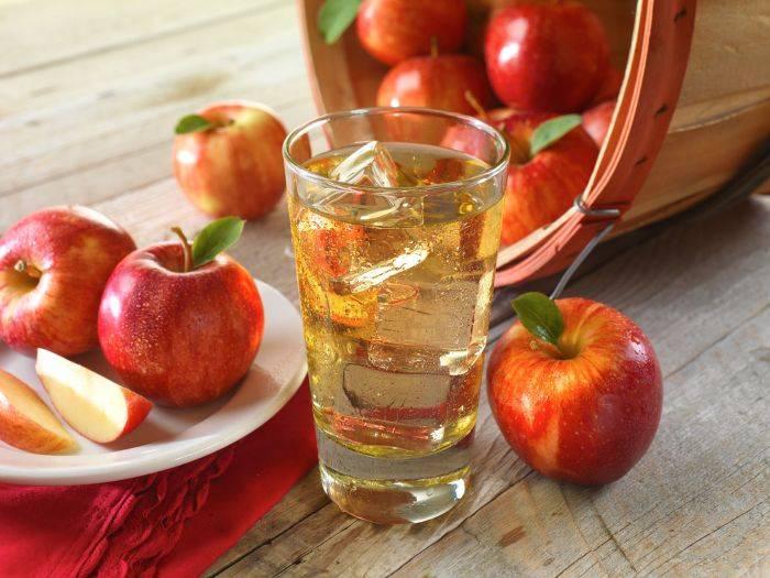 Сколько в яблоке воды