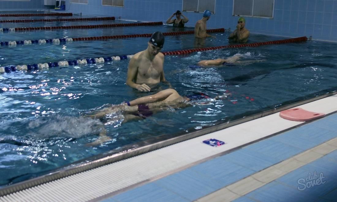 Техника плавания кролем пошагово