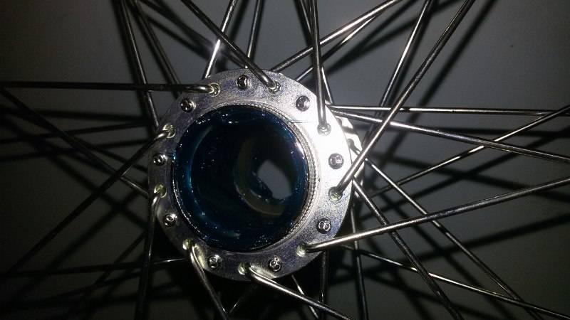 Замена задней втулки на велосипеде