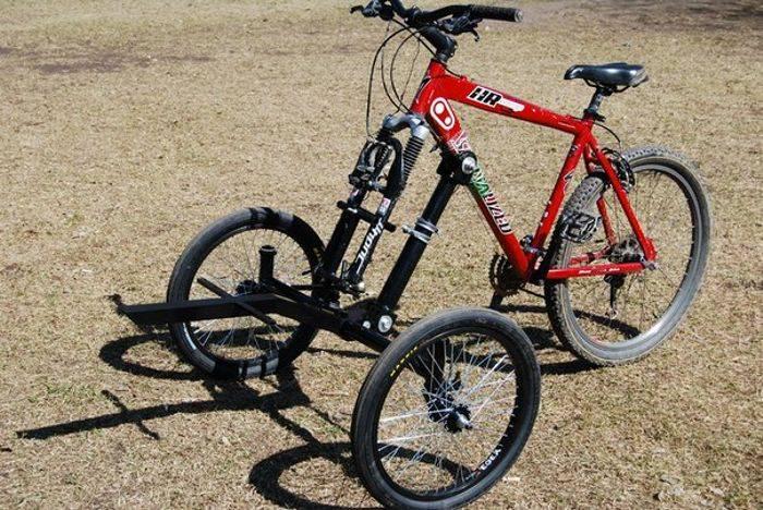 Как сделать трехколесный велосипед