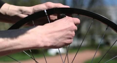 Скрипит заднее колесо на велосипеде