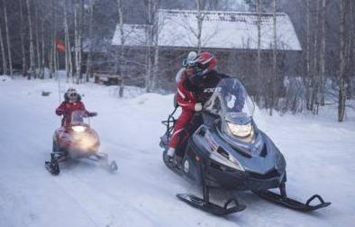 Русские снегоходы