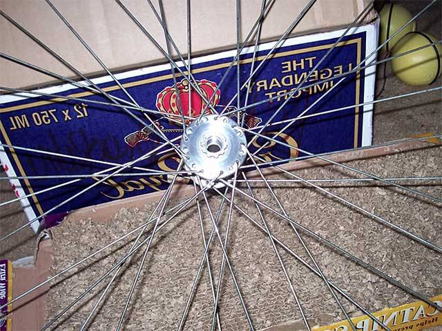 Чистка втулки велосипеда