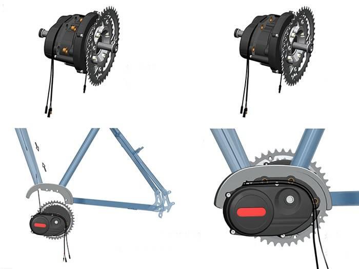Электро веломотор