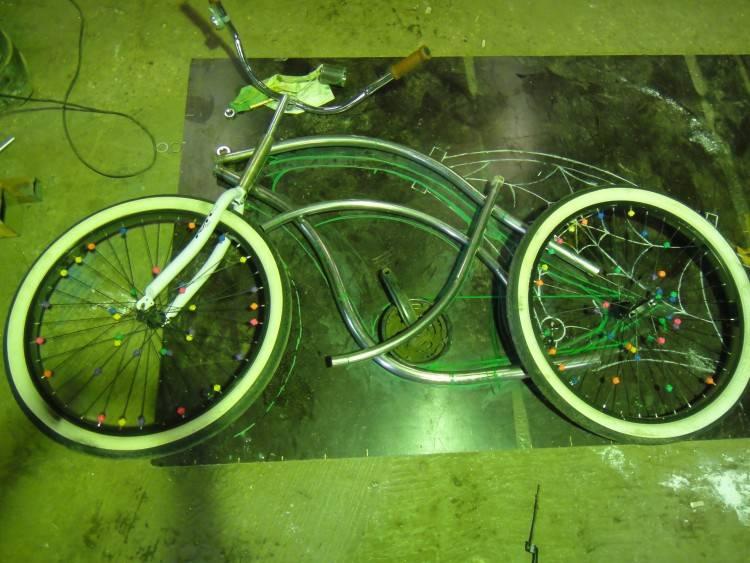 велосипед сделаный своими руками