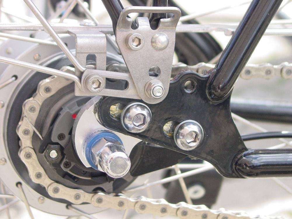 Натяжка цепи велосипеда