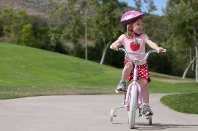 Как подобрать велосипед по росту ребенка