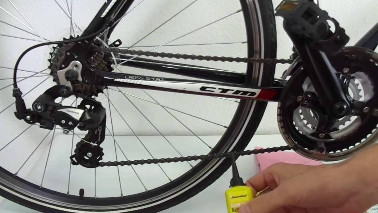 Смазка велоцепи