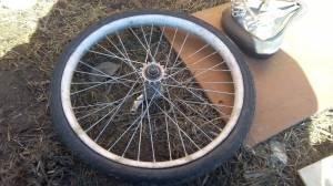Как разобрать заднее колесо