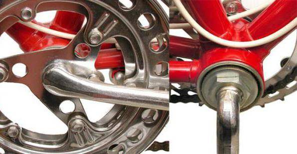 Как поменять шатун на велосипеде