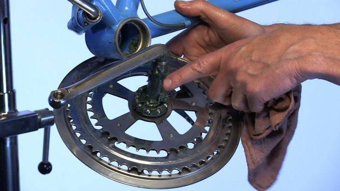 как снять шатуны велосипеда не используя съемник