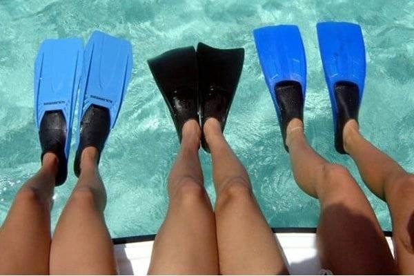 Как выбрать ласты для плавания в бассейне
